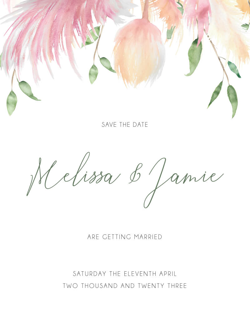 Arbour Save The Date - Save The Date