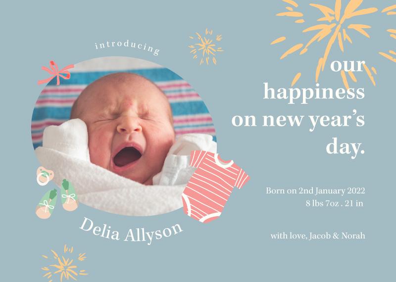 Delia Baby Announcement - baby announcements