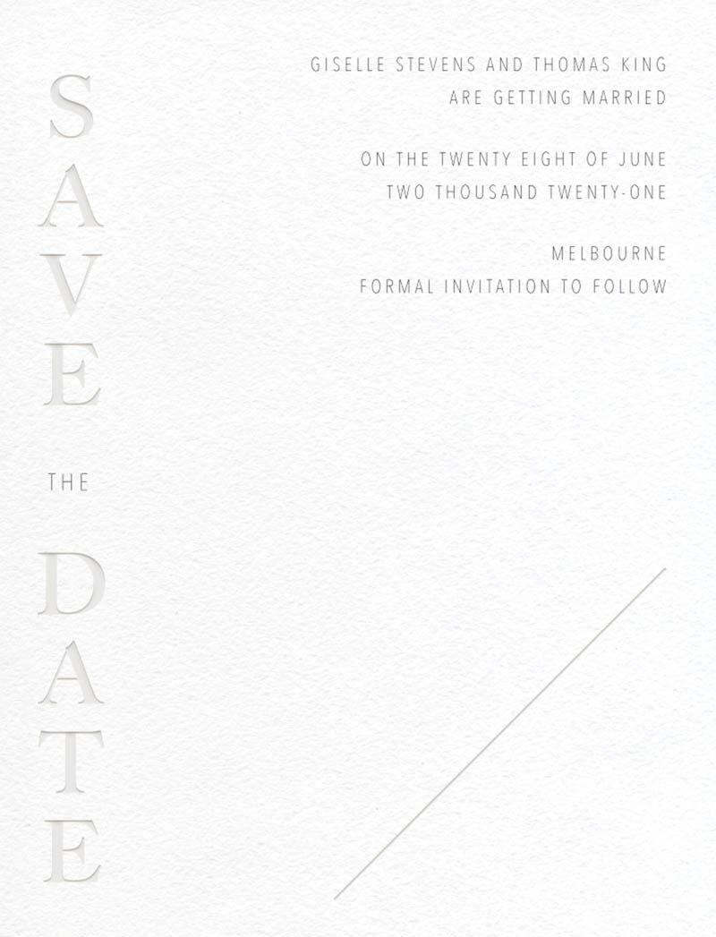 Idoru Save The Date - Save The Date