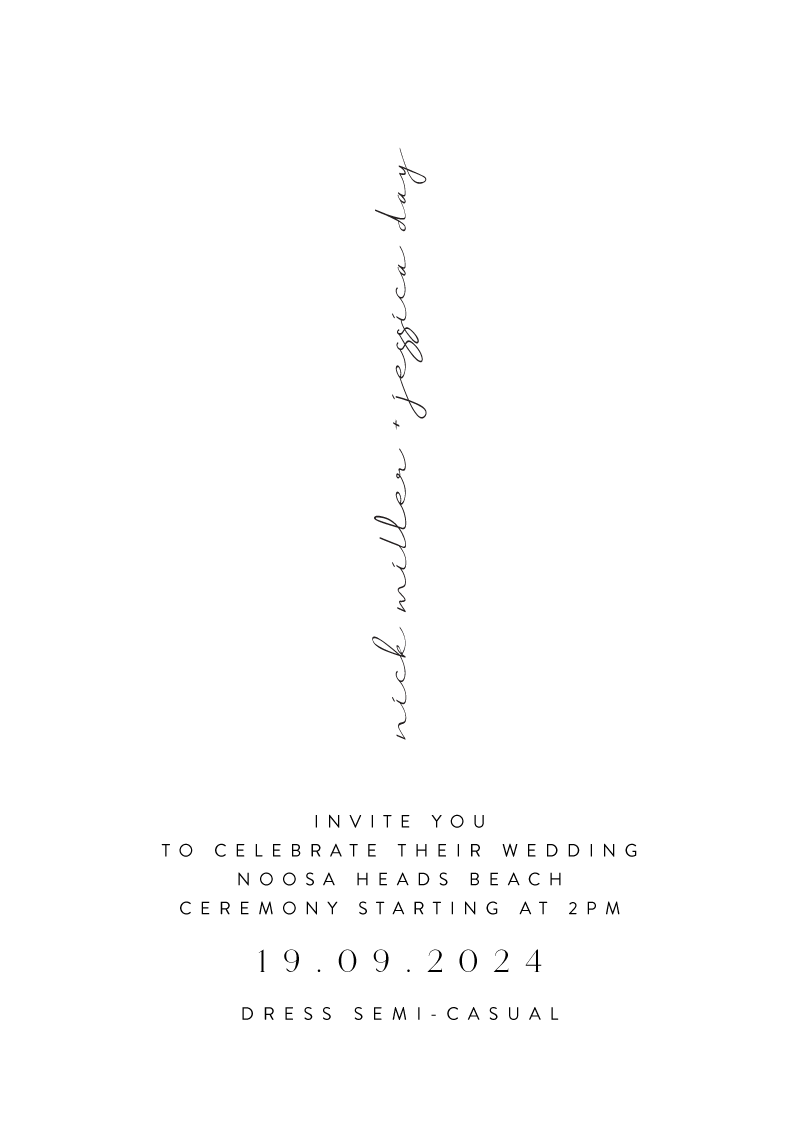 Byron Wedding Invitations - wedding invitations