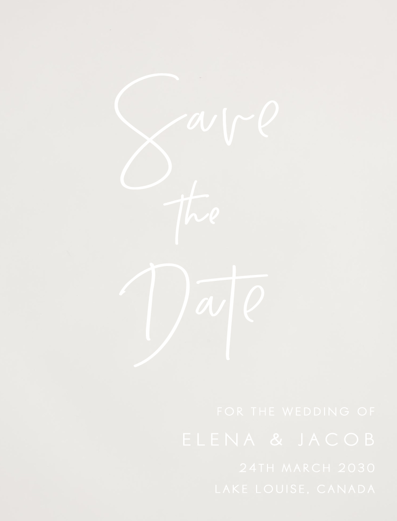 Save The Date Cards Save The Dates