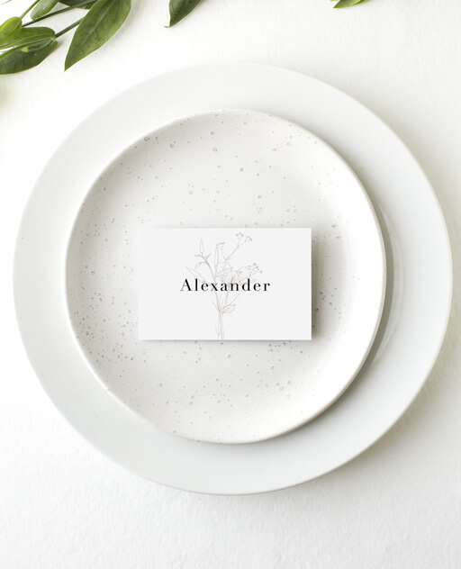 Delilah - Place Cards