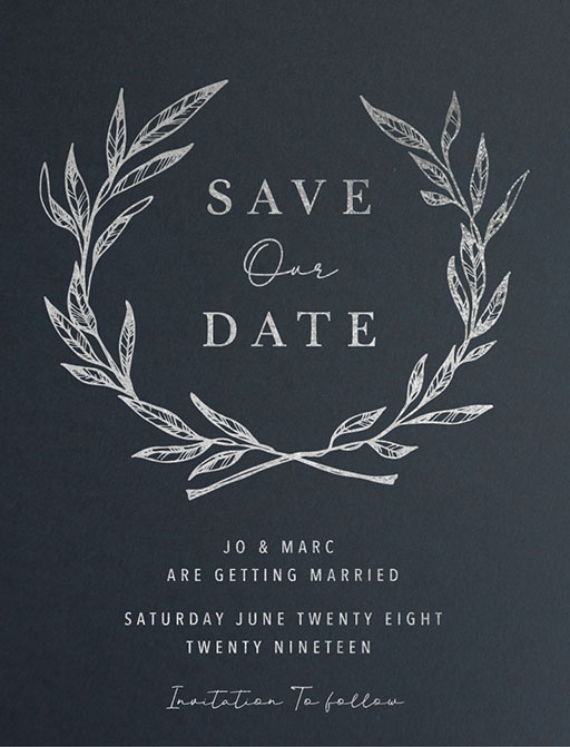 Olea Save The Date - Save The Date
