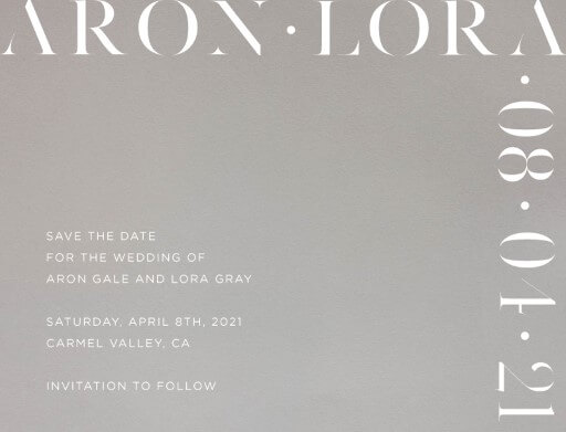Lissom Save The Date - Save The Date