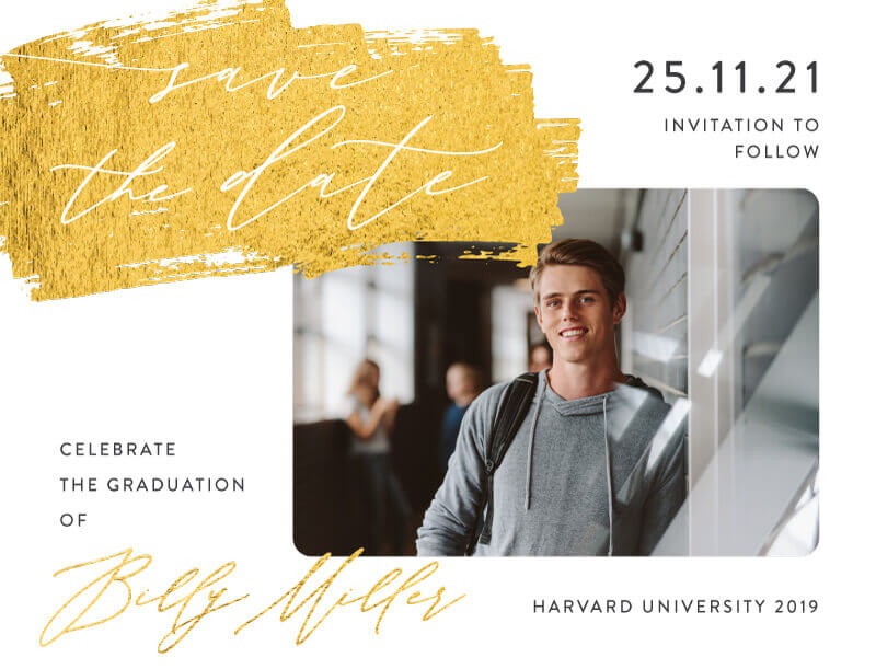 Golden Sweep Save The Date - Save The Date