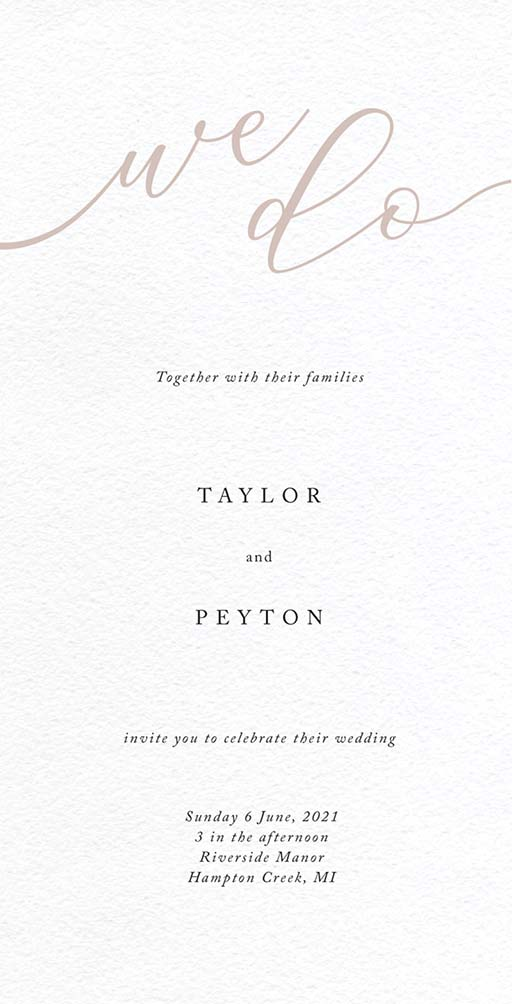 Forever Promise Wedding Invitations - wedding invitations